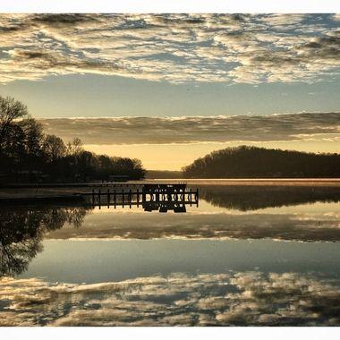 Lake Tillery Sunrise 2
