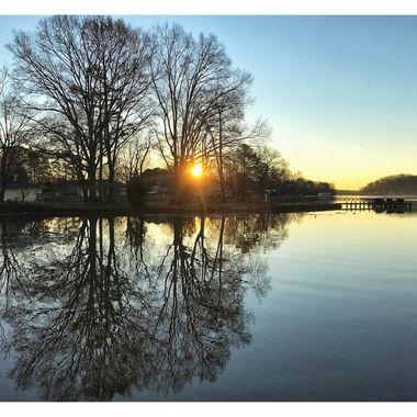 Lake Tillert Sunrise 4