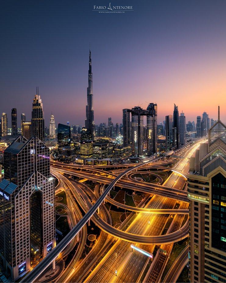 by dustpixxByFabioAntenore - Bright City Lights Photo Contest
