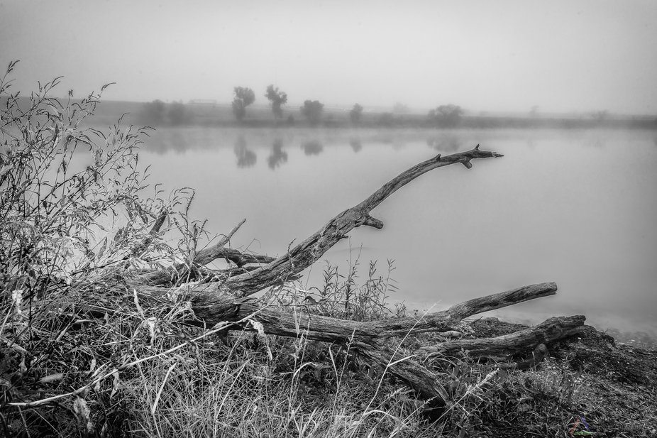 It was a nice autumn morning with fog, perfect for taking a few captures of Kansas.