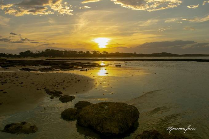 Currarong - beachside town Jervis Bay National Park