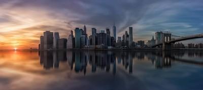 Reflections in Manhattan