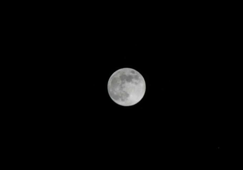bad attempt at the moon, need to invest in a telescopic at some point