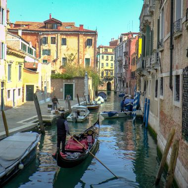 Venice canal.