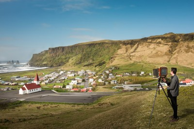 Capturing Iceland in the old way
