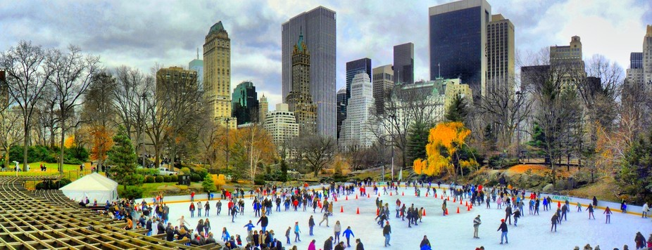 Imagine gliding across the ice with the NYC skyline in the background. Thousands of New Yorkers a...