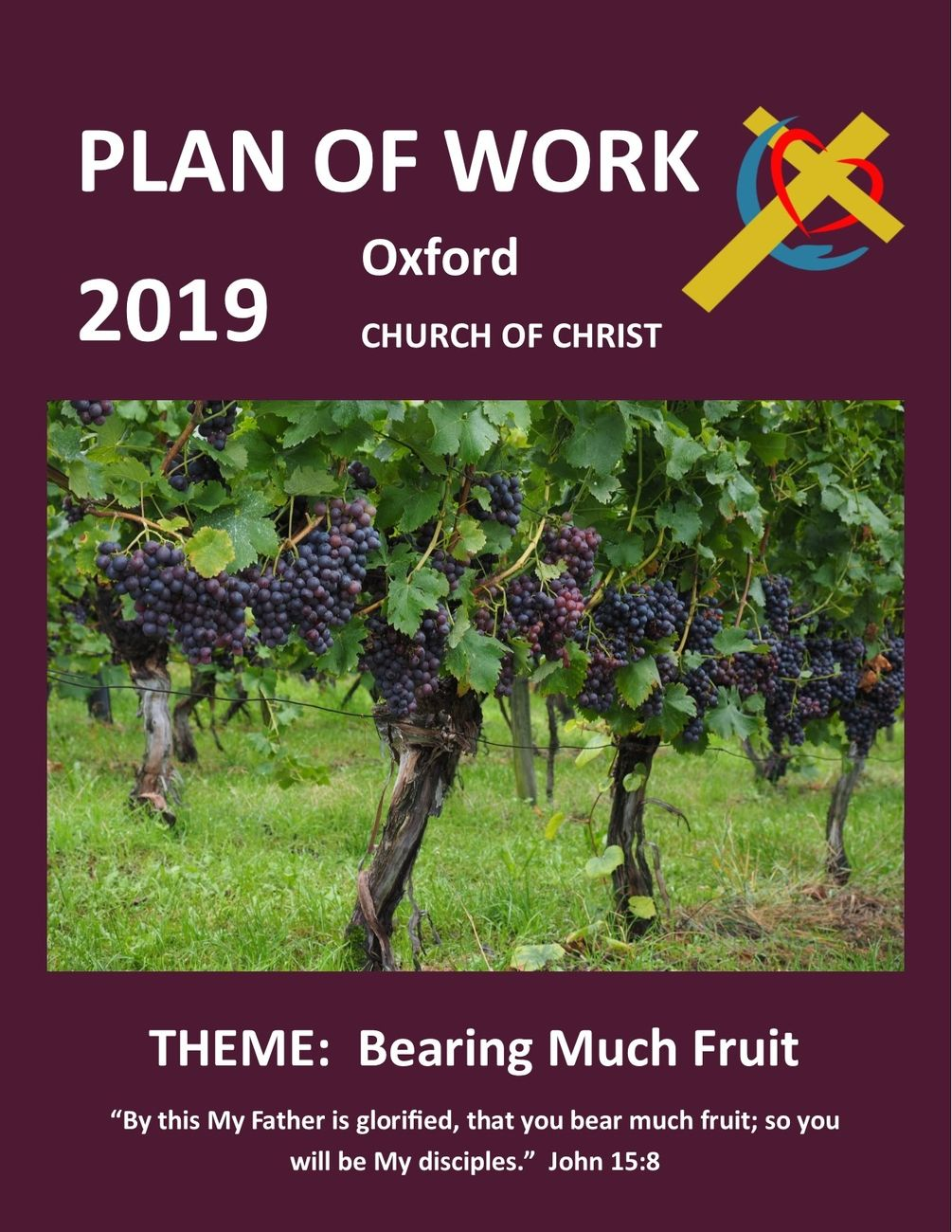 Plan of Work Cover 2019