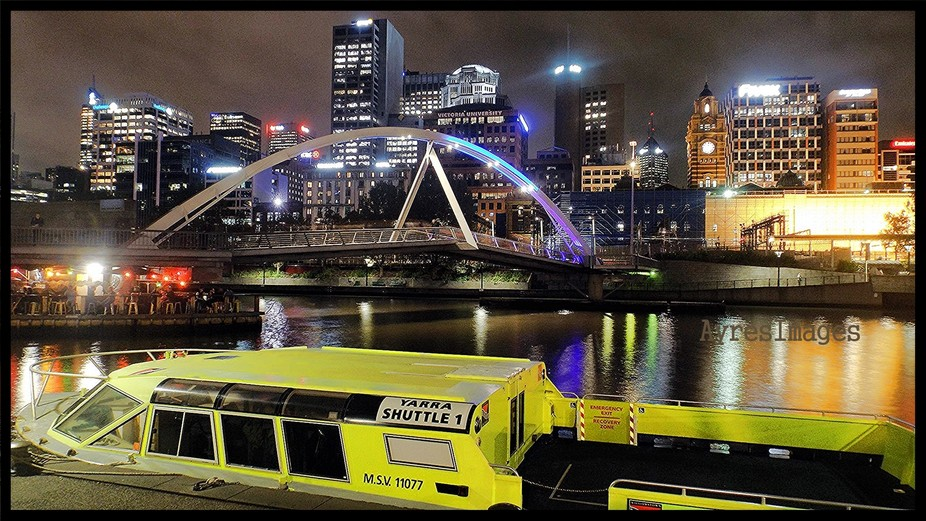 Yarra River Ferry,Melbourne City,Australia