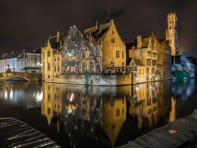 Brugge - bruges at night #2