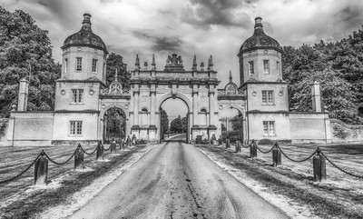 Burghley House opened in c1587