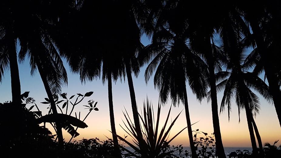 L'aube sur Playa Junquillal, Costa Rica