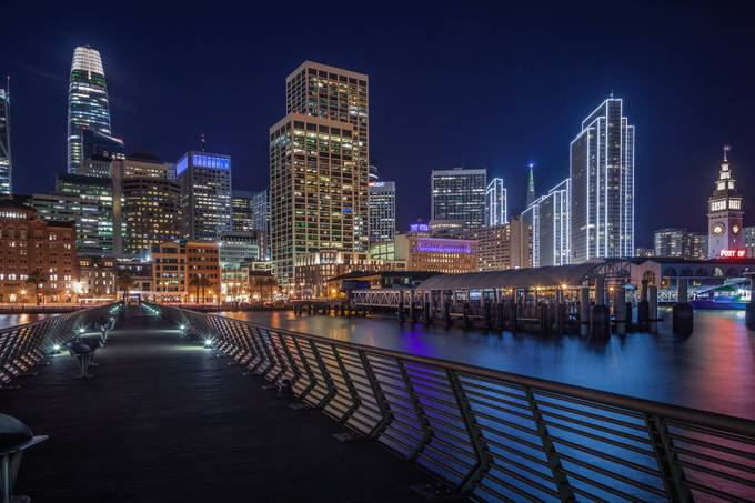 SF Nightlife by Juro_Jimenez - Bright City Lights Photo Contest