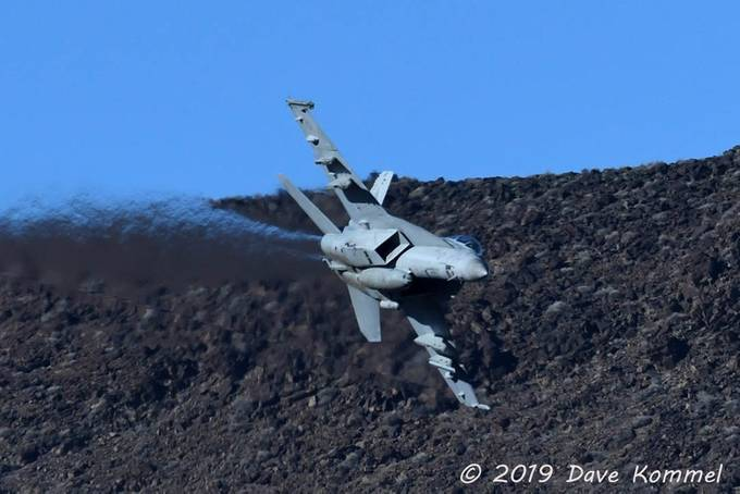 F-18 in Star Wars Canyon by DaveKommel - Aircrafts Photo Contest