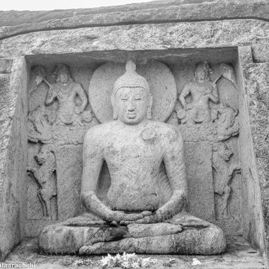 Lord Buddha carvings