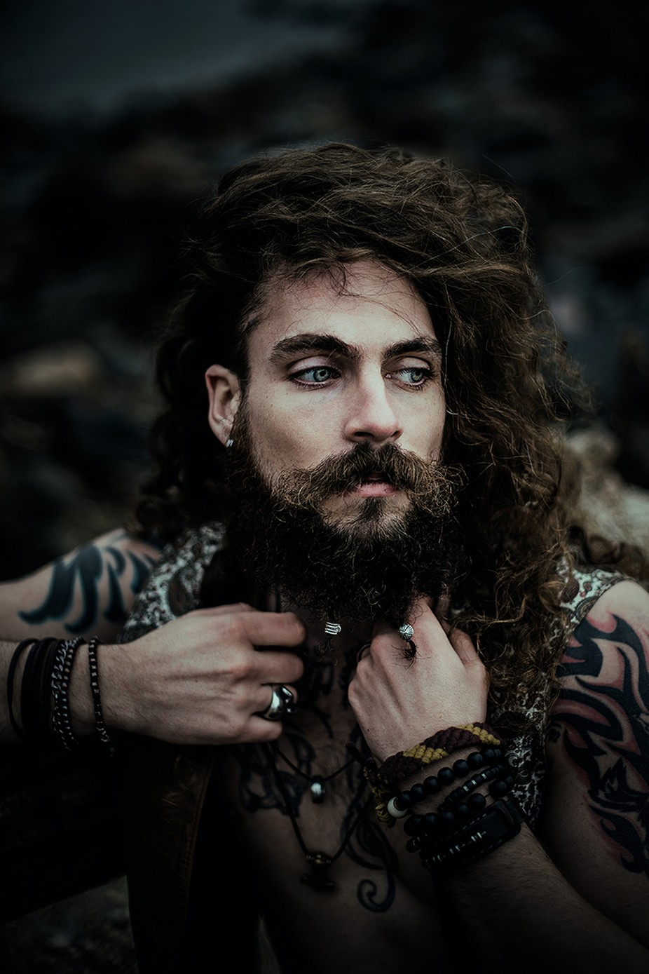 Amon by sollenaphotography - Beards and Mustaches Photo Contest