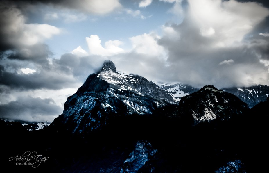 Shot this Alps mountain range last spring on a tour of Europe. The scenery was breathtaking. Deep...