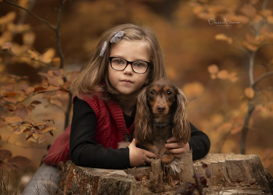 We love photographing children and dogs... see more at: www.shootcreatecaptivate.com