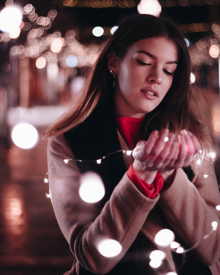 Lights Love by richrdmolnr - People With Bokeh Photo Contest