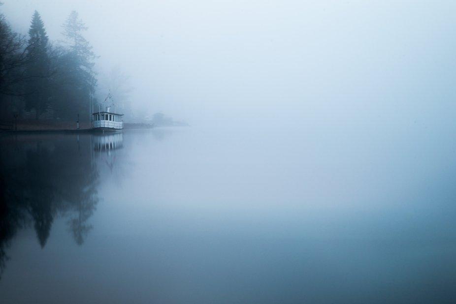 Taken by the lake Almenäs in Sweden during December