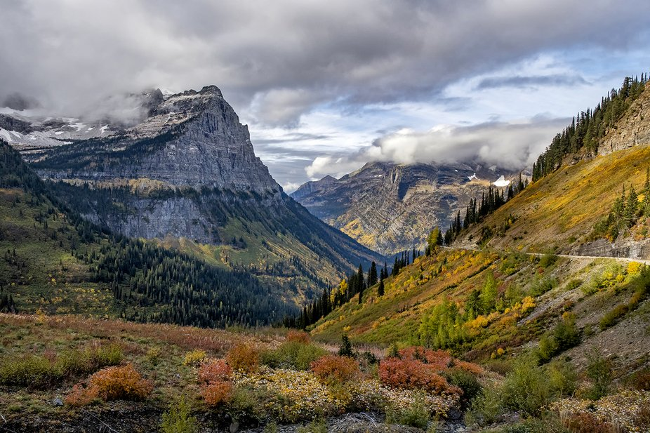 Short trip to Glacier NP in late September was full of great photo ops!