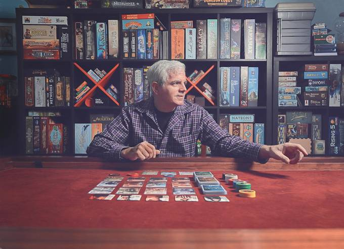 The Game Collector by kelleyhurwitzahr - Portraits With Depth Photo Contest