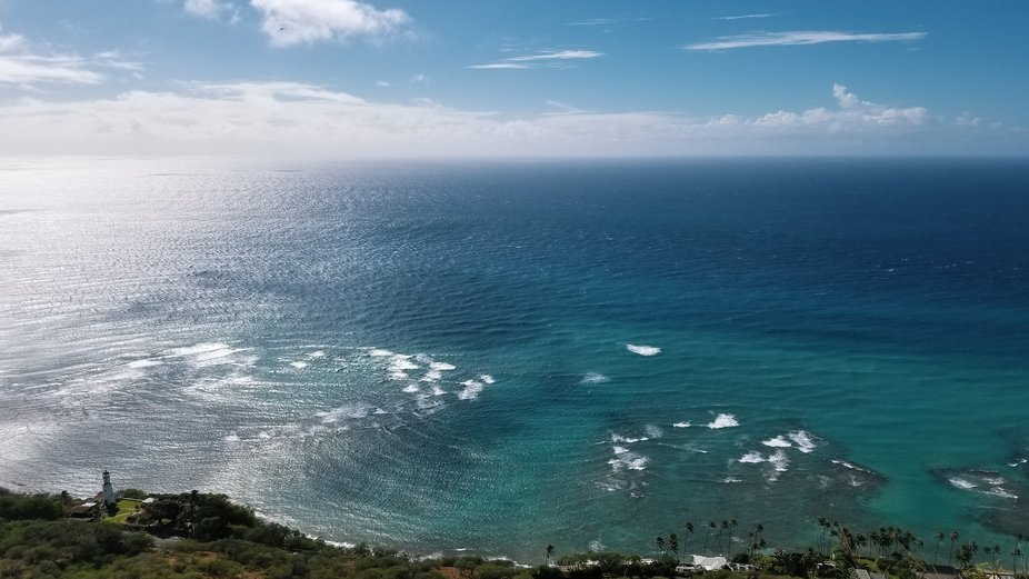 #1 View of the Pacific Ocean from Diamond Head Crater