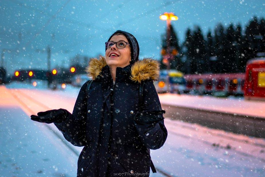 Enjoying heavy snow in Bavaria last few days