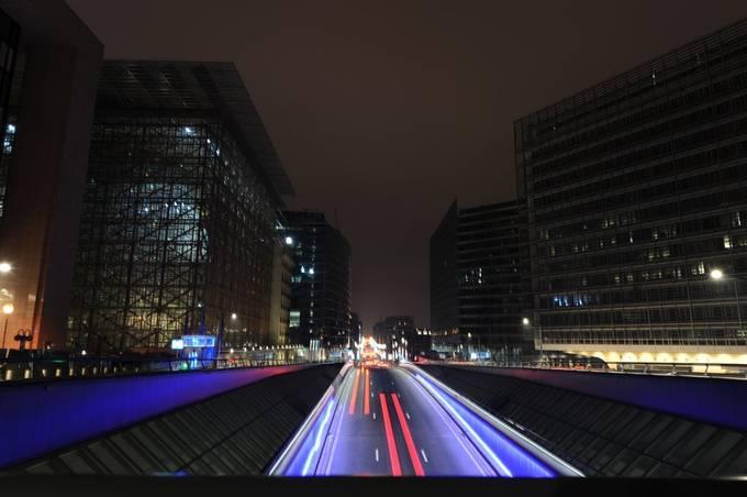 Rue de la Loi by Macpwm - Straight Roads Photo Contest