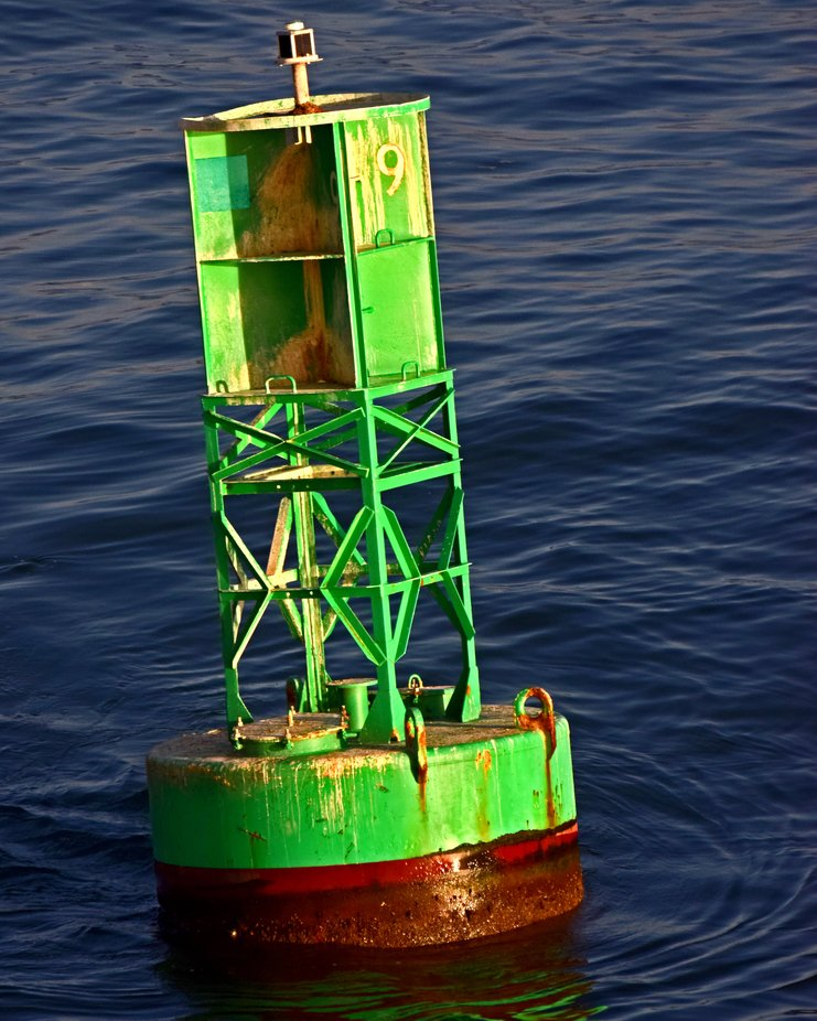 No.9 Buoy San Juan harbour