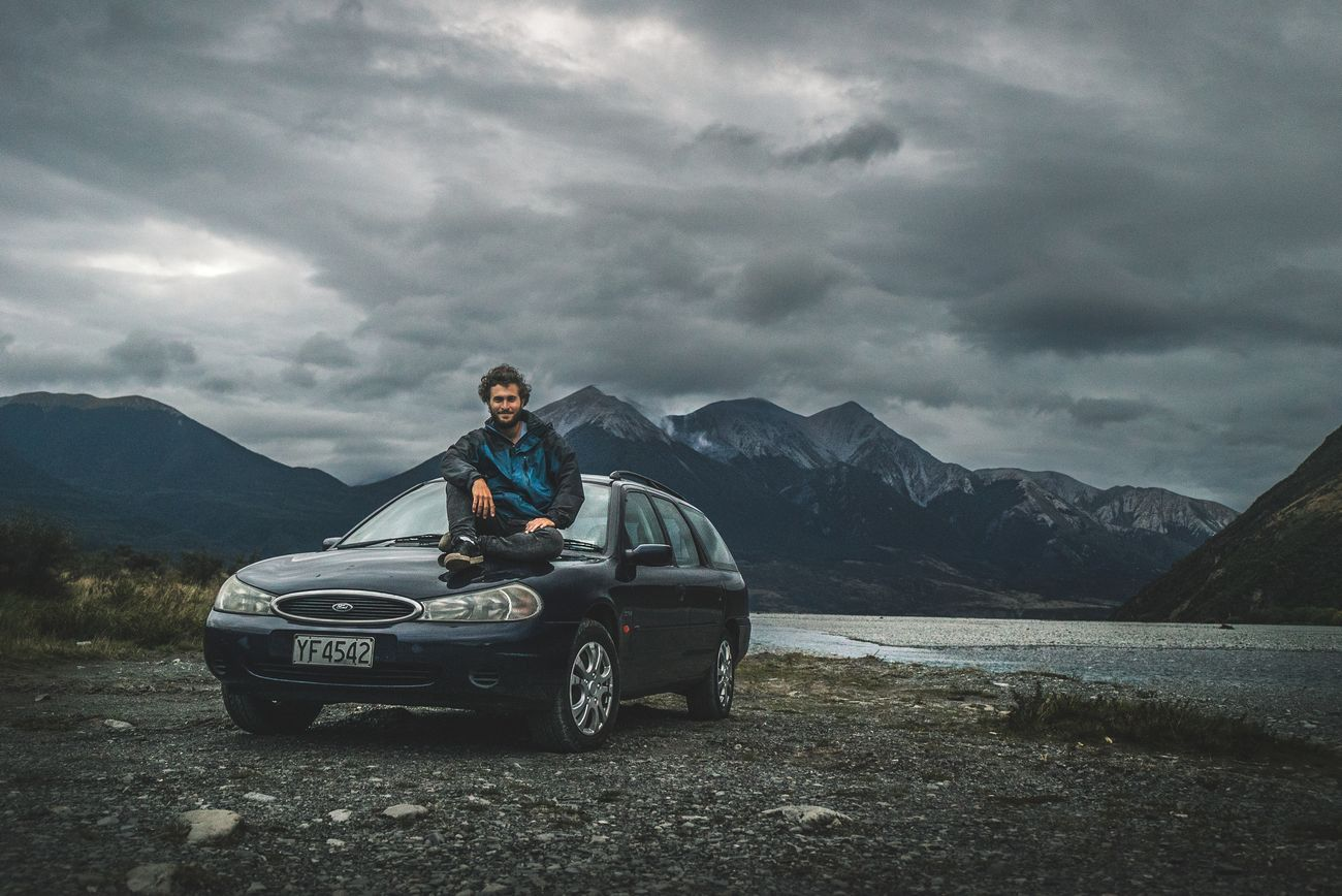 In the middle of my New Zealand road trip in Arthur's pass national park.