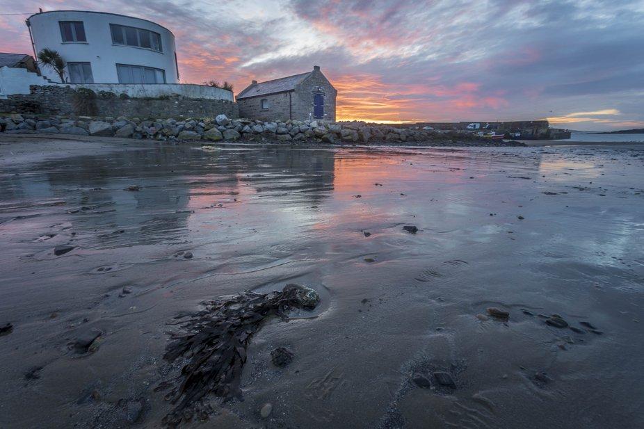 Sunrise on Loughshinny Beach, Co. Dublin