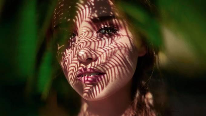 Anna by alla_dolhova_photography - Capture Shadows Photo Contest