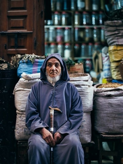Proud Marrakech Spice Trader