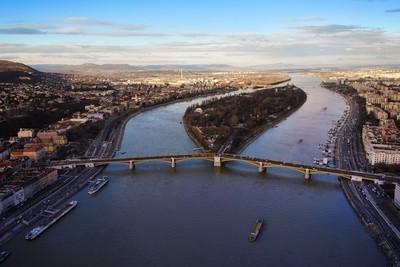 River Donava in Budapest
