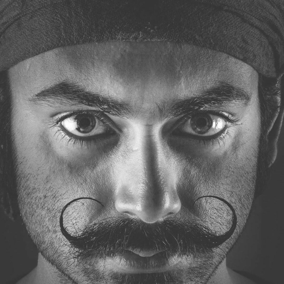 Self Portrait  by fotobiotic - Beards and Mustaches Photo Contest