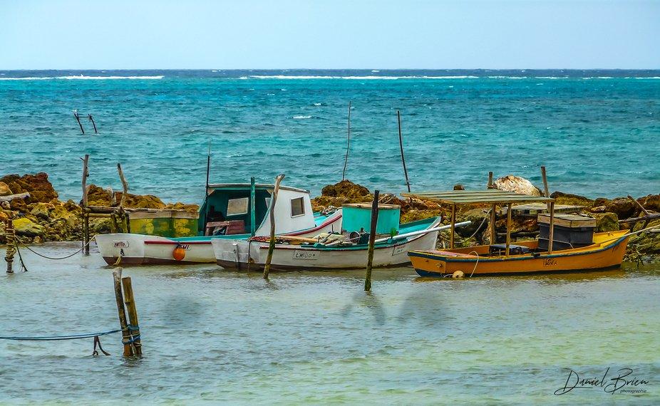 3 Bateaux sur mer