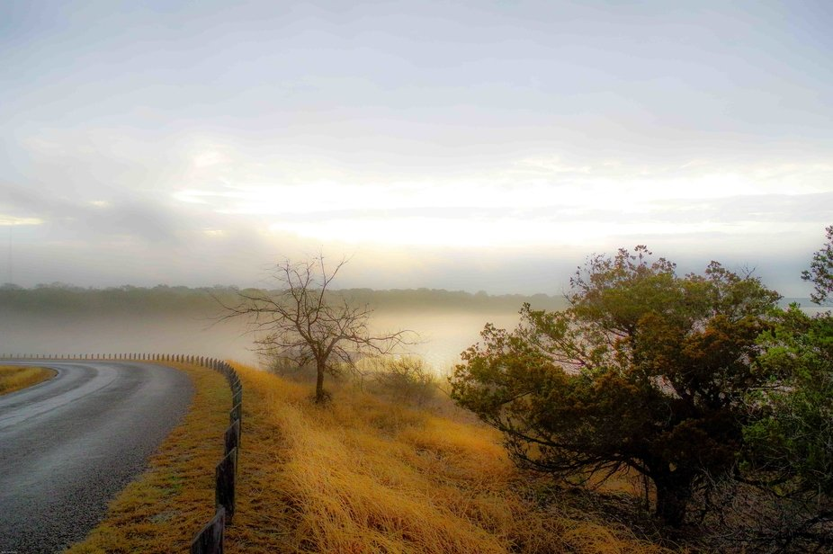 Driving through Central Texas early one morning and found this lovely scene !