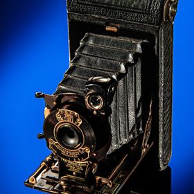 No. 1 Pocket Kodak Junior c. 1921 Captured in the Studio