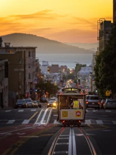 San Francisico sun