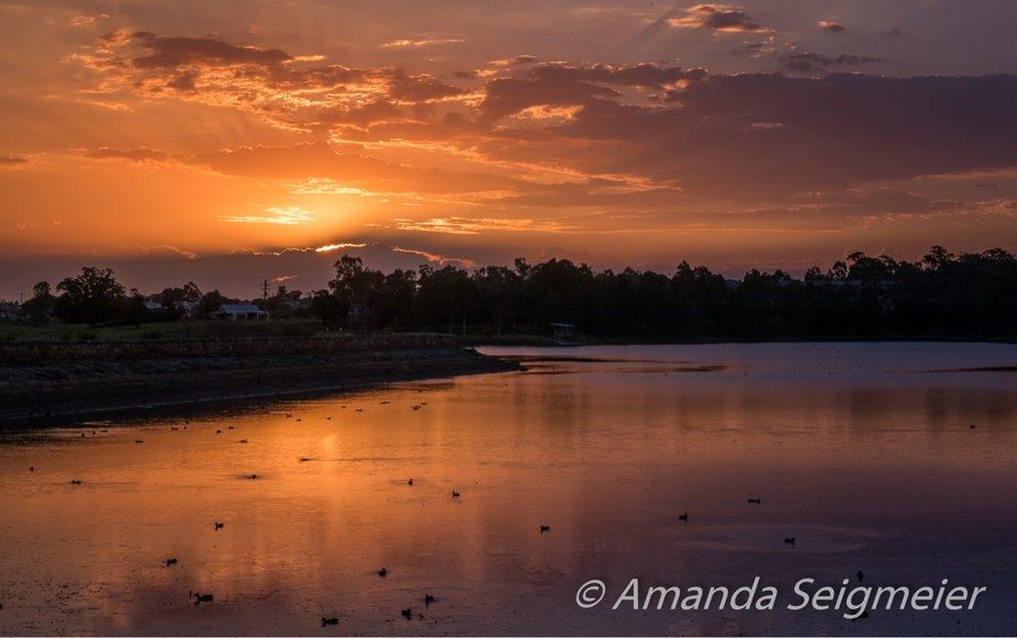 Walka Sunset, Maitland, NSW, Australia