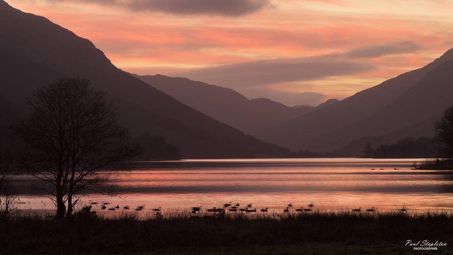 Loch Voil Sunset