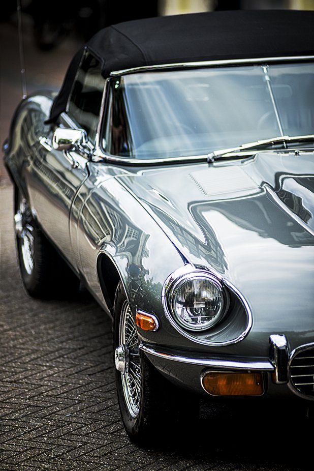 E type by gregkirkydoodles - We Love Cars Photo Contest