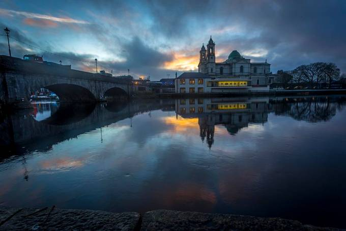 Church Over The Shannon by naoisekelly - Photogenic Villages Photo Contest