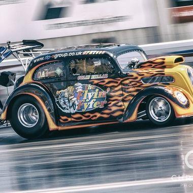 Drag Racing Action