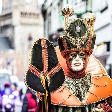 Venitien Mask in Bruges-Belgium