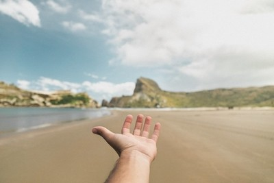 Just a hand from adventure