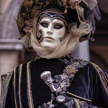 Venetian Mask in Bruges