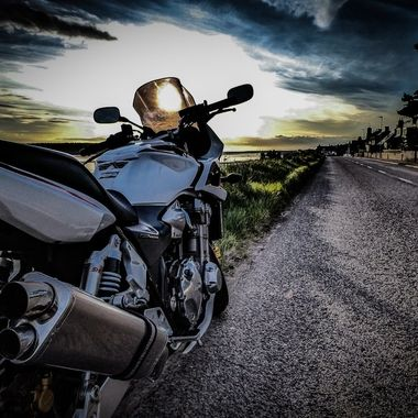 Findhorn at dusk .........