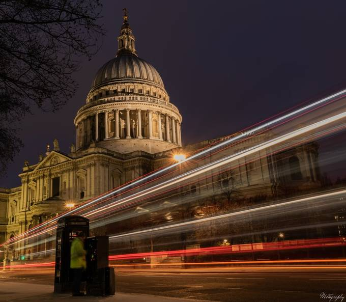 St Pauls at Night by DaveMctography - Experimental Photography Project