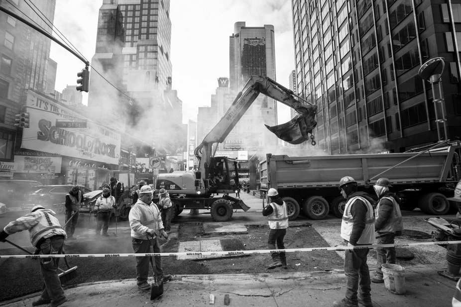 Workers in NYC